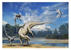 tenontosaurus_vs_deinonychus_by_dustdevil-d4t8x1i